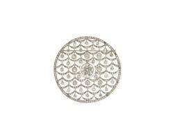 517. diamond brooch
