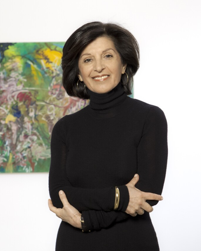Founder, artistic and executive director of Parasol unit foundation for contemporary art, Ziba Ardalan