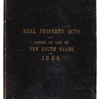 276. real property acts and forms in use in new south wales 1882