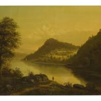 76. f. hormann, 19th century | river landscape