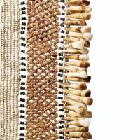 42. bandoulière de chef, sud de l'île de malaita, îles salomon