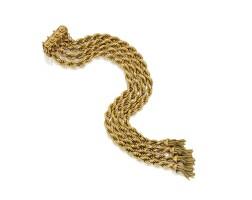 2. gold bracelet, france