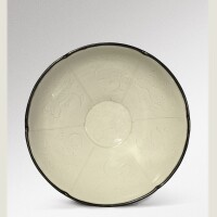 7. a carved 'ding' 'lotus' bowl northern song dynasty