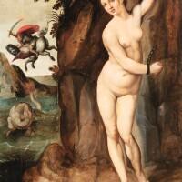 7. attributed to michiel coxcie the eldermechelen circa 1497/1501 - 1585 | perseus freeing andromeda
