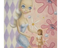 129. mark ryden (b. 1963) | big doll, 1997