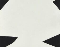 139. ellsworth kelly | white black (petit dolmen)