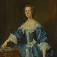 192. enoch seeman   portrait of mary palmer, countess of winchilsea and nottingham (c. 1712–57)