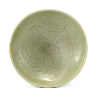 301. a carved yaozhou celadon bowl northern song dynasty  