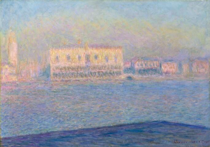 Claude Monet, Le Palais Ducal vu de Saint-Georges Majeur