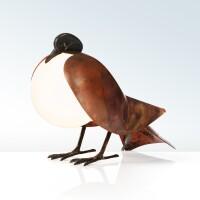 16. françois-xavier lalanne   pigeon lamp