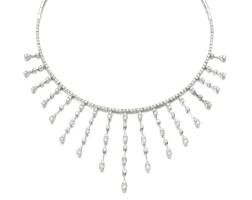 28. diamond necklace