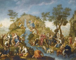 12. ecole flamande de la première moitié du xviiie siècle