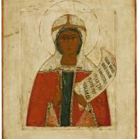 560. saint paraskeve, northern russian, late 16th century |