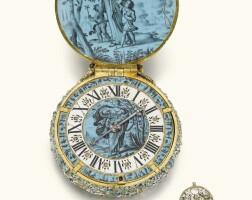 4. jehan cremsdorff, paris | a highly important and magnificent gold, enamel and diamond-set verge watchcirca 1650