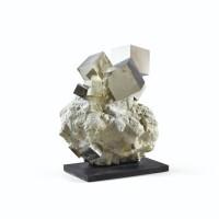 119. pyrite cubique ou hexaèdre