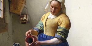 Johannes Vermeer's 'The Milkmaid' — A Mona Lisa for the Dutch Golden Age