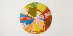 Damien Hirst's Seminal Spot & Spin Paintings