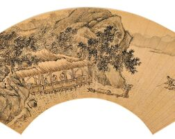 2503. 錢貢 1586-1612 | 漁父圖