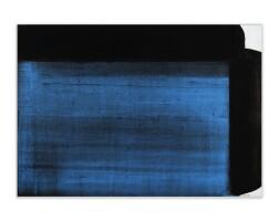 11. pierre soulages | peinture 72 x 102 cm, 19 mai 1982