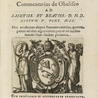 6. angeli, commentarius de obelisco ... sequuntur carmina a variis auctoribus, roma, 1586, pergamena coeva