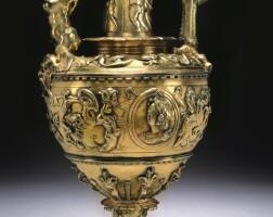 3. a silver-gilt flagon, hispanic or italian, first half of the 16th century