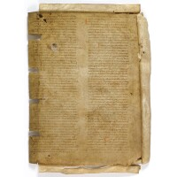2. collection of leaves from medieval manuscripts, in latin, on vellum