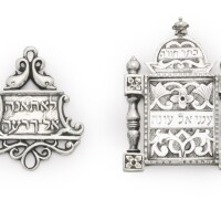 5. two italian silver amulets, late 19th/early 20th century