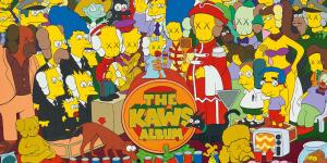 Watch as KAWS' Simpsons X Sgt. Pepper Painting Smashes Record