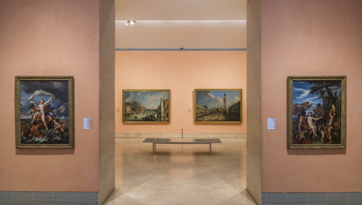 Permanent collection galleries