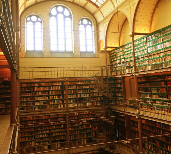 Library of the Rijksmuseum, Netherlands