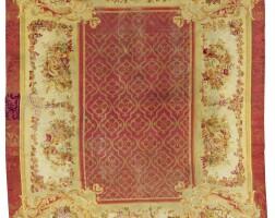 9. a louis philippe savonnerie carpet, france