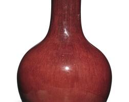 1312. 清十八 / 十九世紀 窰變釉長頸瓶 |
