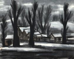717. lin fengmian | winter landscape