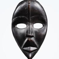 40. masque, dan, côte d'ivoire |