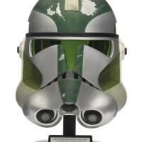 14. star wars revenge of the sith clone commander gree helmet, master replicas, 2005