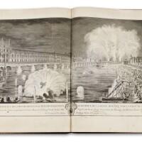 12. [livres de fetes]. réunion de 4 ouvrages. 1723-1747. éditions originales.