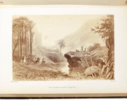 275. marcet. australie. un voyage a travers le bush. 1868
