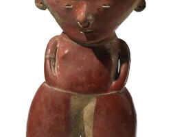 35. chinesco standing figure, type c, protoclassic, ca. 100 b.c.-a.d. 250