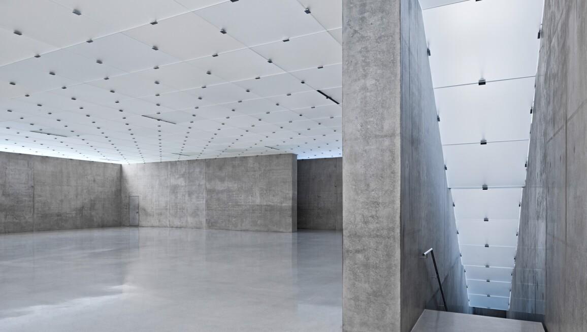 Interior View, Kunsthaus Bregenz