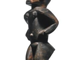 157. venda or pedi female figure, south africa