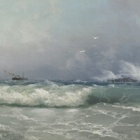 17. ivan konstantinovich aivazovsky