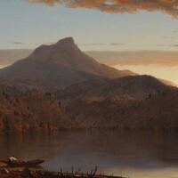 39. sanford robinson gifford   a lake twilight