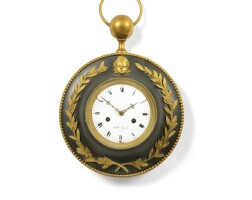 8. a patinated and gilt-bronze bracket clock, french, first quarter 19th century |