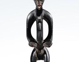 83. statuette, sénufo, côte d'ivoire |