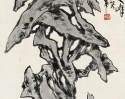 525. 蒲華 1834-1911 | 壽石