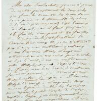 """12. balzac. l.a.s. à l'éditeur dubochet. [paris] 13 décembre 1843. 2 p. 1/2 in-8, à propos de """"la comédie humaine""""."""