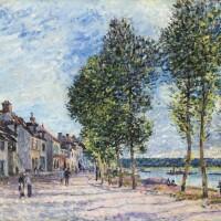 41. Alfred Sisley