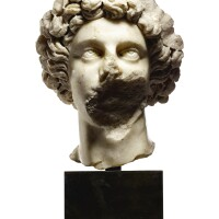 3003. a fragmentary roman marble portrait head of a youth severan, circa late 2nd – 3rd century a.d. |