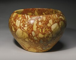 3. a large egyptian breccia bowl, 1st/2nd dynasty, 2965-2750 b.c.