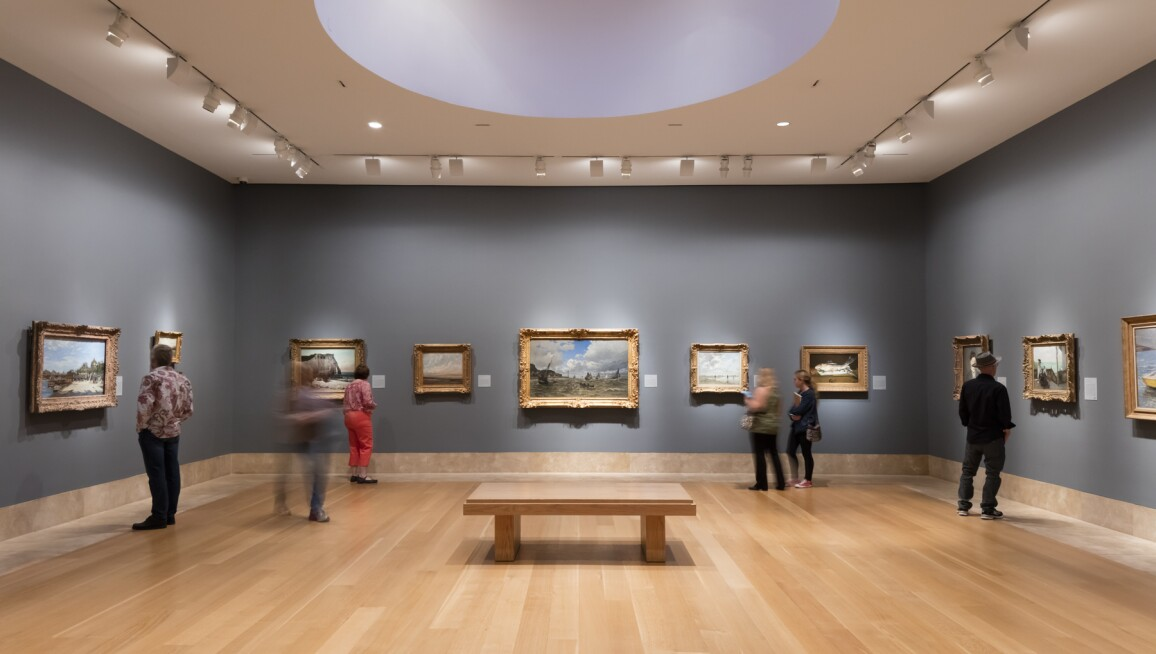 Interior View, Norton Simon Museum